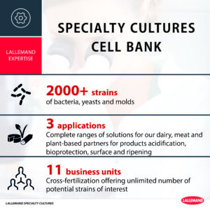 Specialty Cultures cell bank